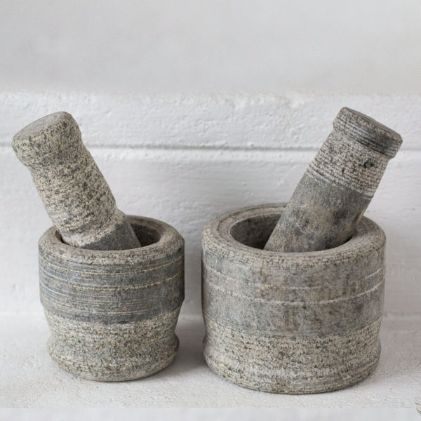 motar and stone pestle