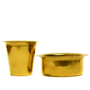 brass filter coffee dabara set