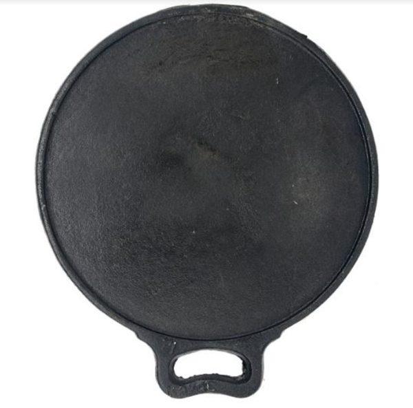 cast iron flat bottom dosa tawa online