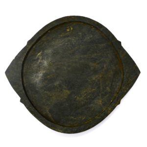 traditional soapstone dosa tawa top view