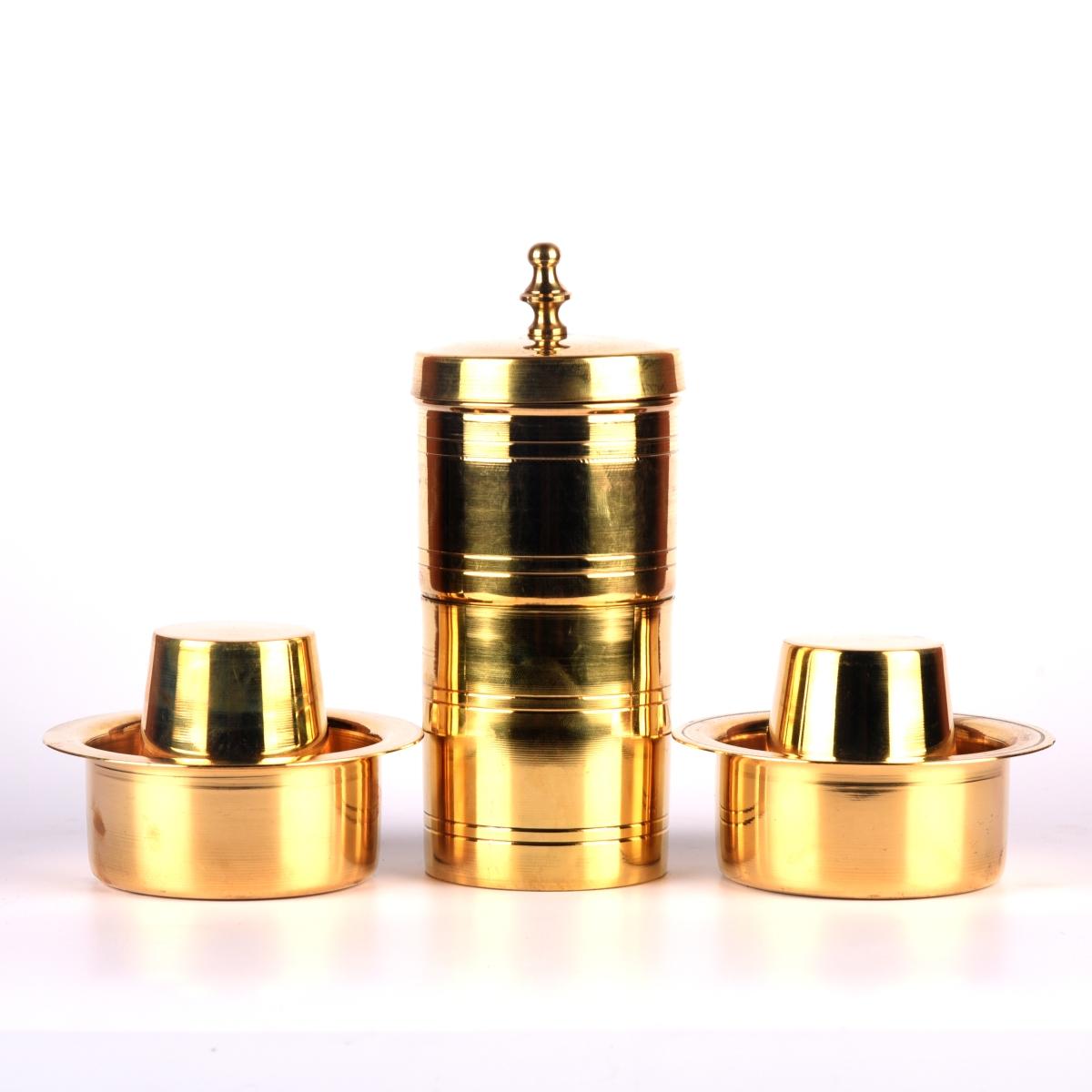 brass coffee filter