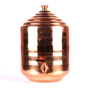 copper water pot tank dispenser