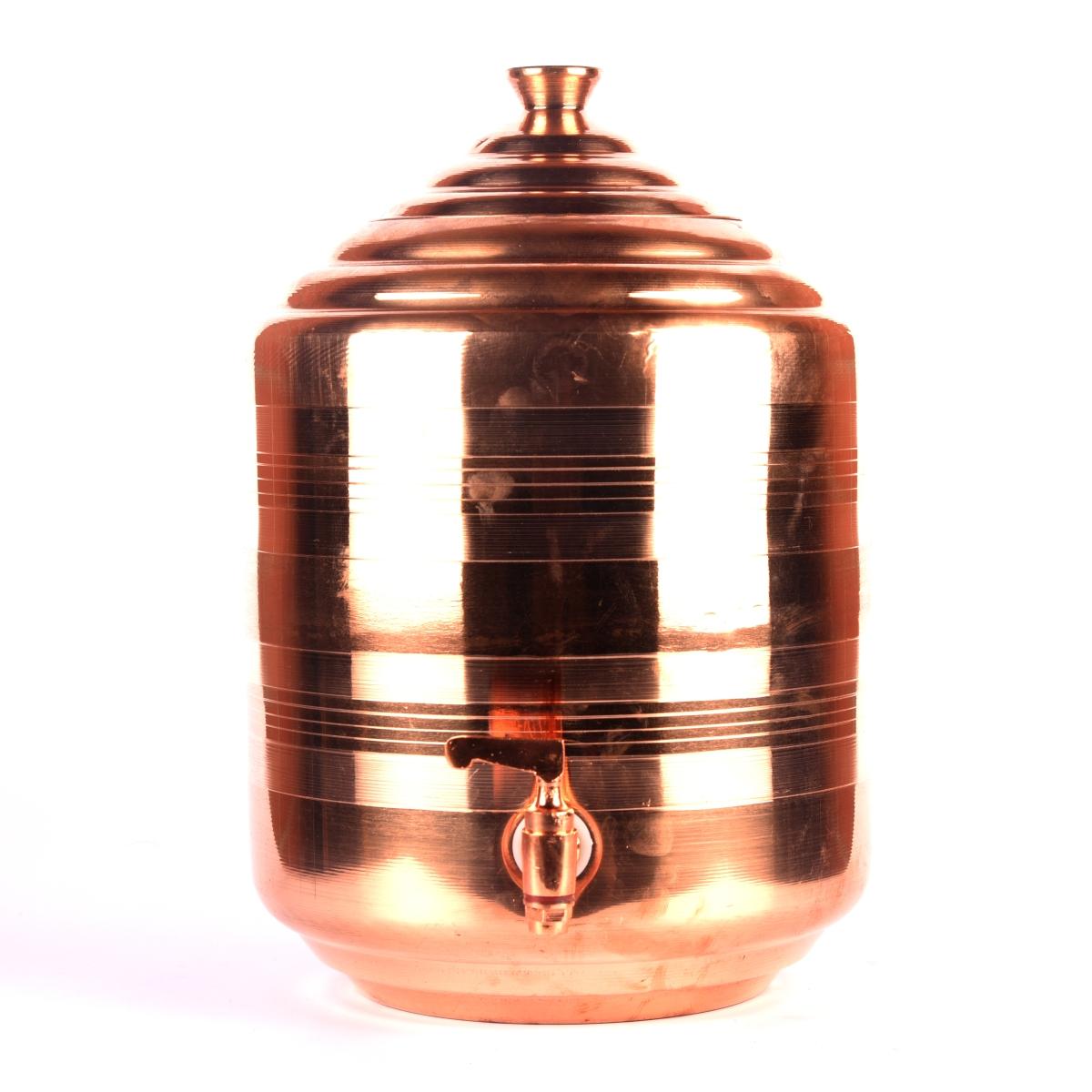 copper water pot tank dispenser