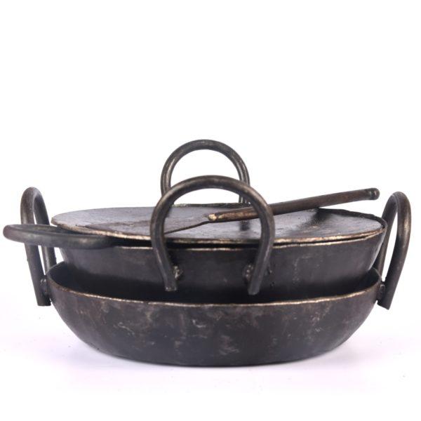 iron cooking utensils