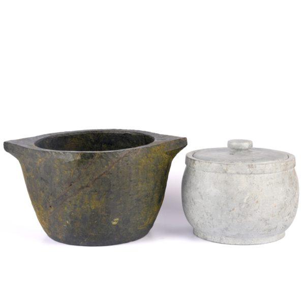 kalchatti with curd jar