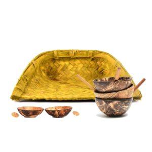 Bamboo & Coconut shell