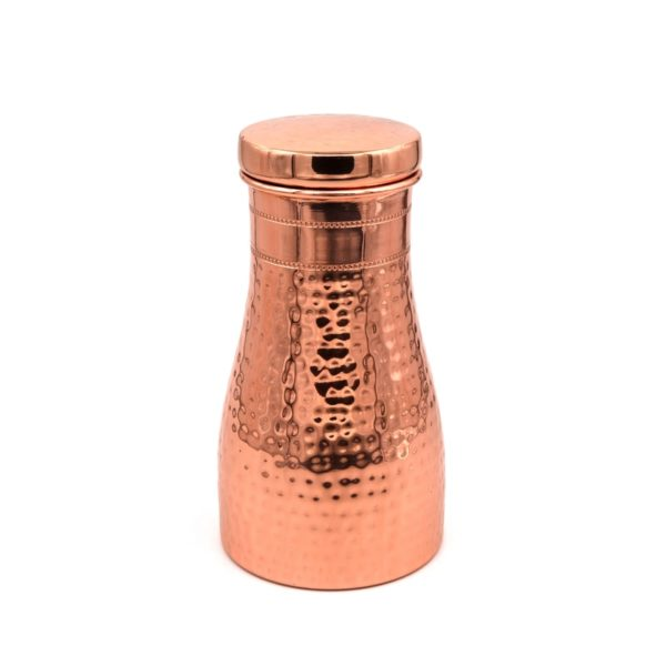 Bedside Carafe Pure Copper Water Bottle