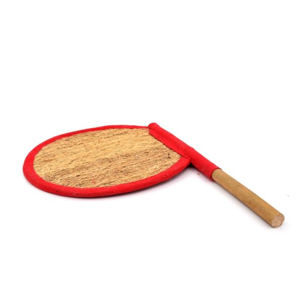 vetiver handfan with handle