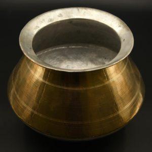 brass rice cooking pot online shopping
