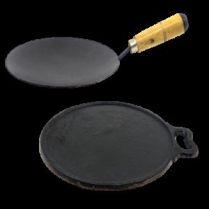 cast iron roti tawa and dosa tawa