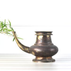 antique kettle