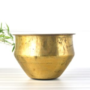 antique brass rice panai